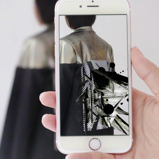 Kailu Guan's augmented reality fashion